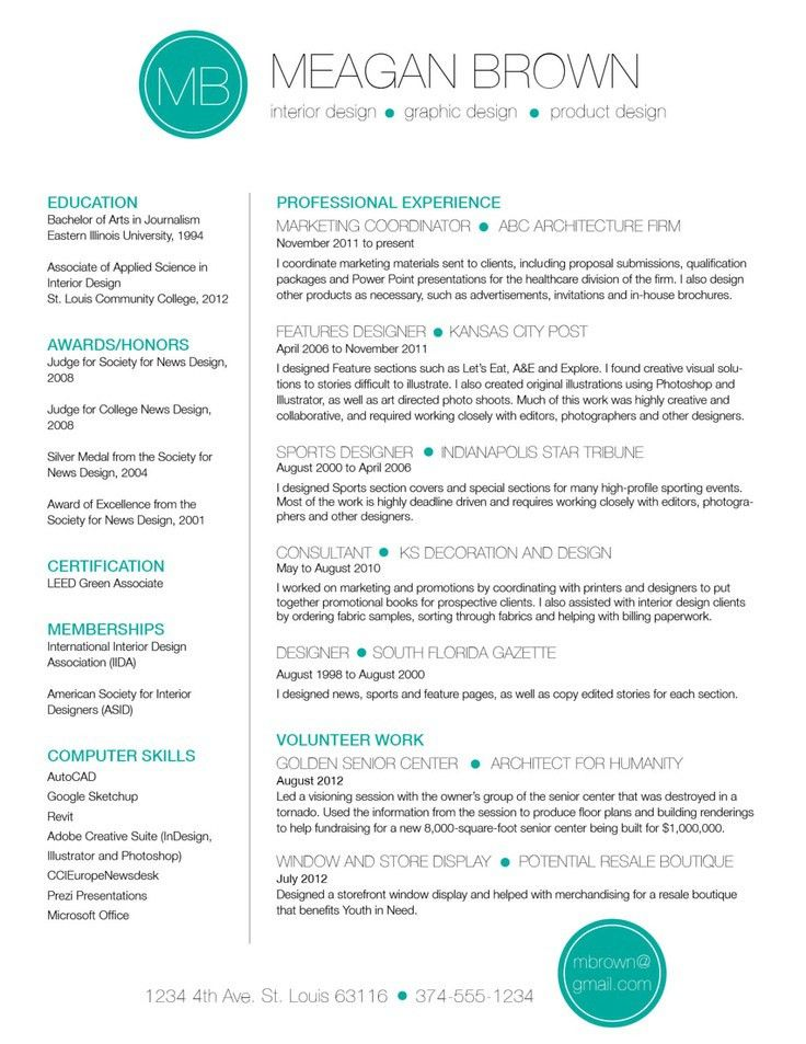 72 best CV templates images on Pinterest | Cv template, Resume ...
