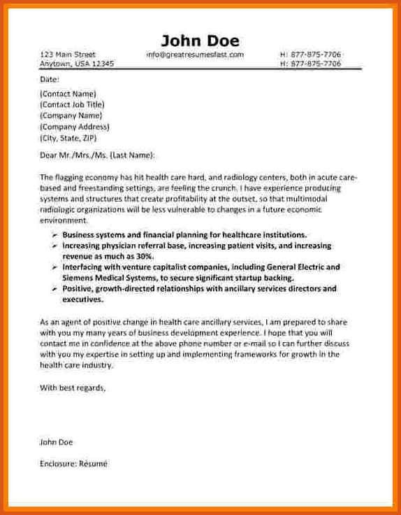 closing letter statement | general resumes