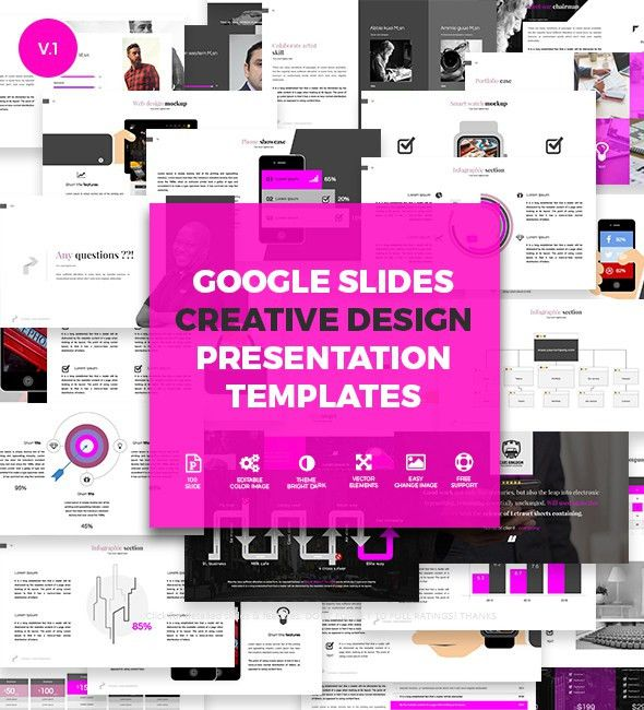 Creative Slides - Google Slides Presentation Templates on Behance
