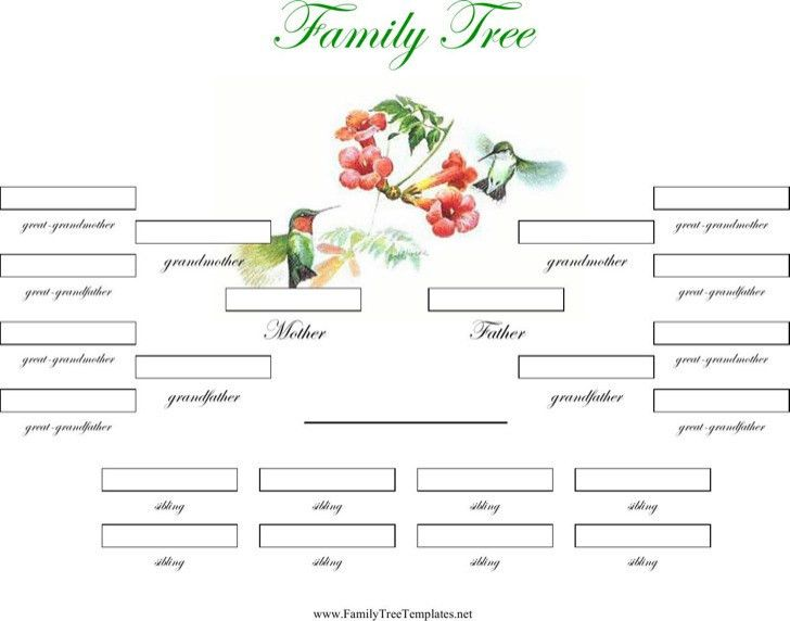 Family Tree Templates   Download Free & Premium Templates, Forms ...