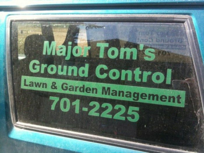 Perfect Name For A Lawn Care Business   Funny Pictures   Pinterest ...