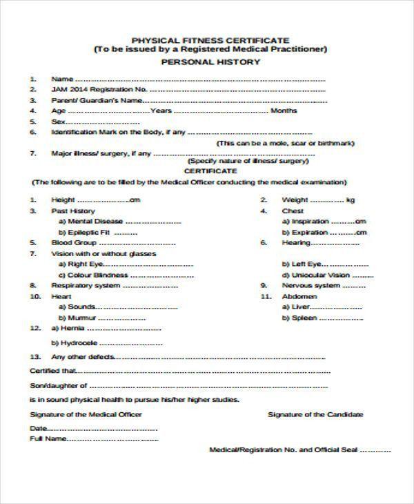 23+ Medical Certificate Samples   Free & Premium Templates