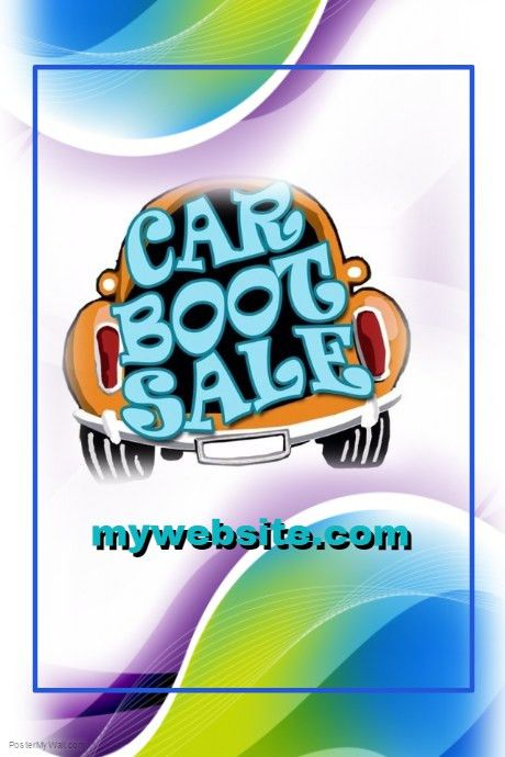 Car Boot Sale Event Flyer template | PosterMyWall