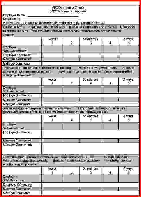 Performance Appraisal Examples.Performance Appraisal Form 1.png ...