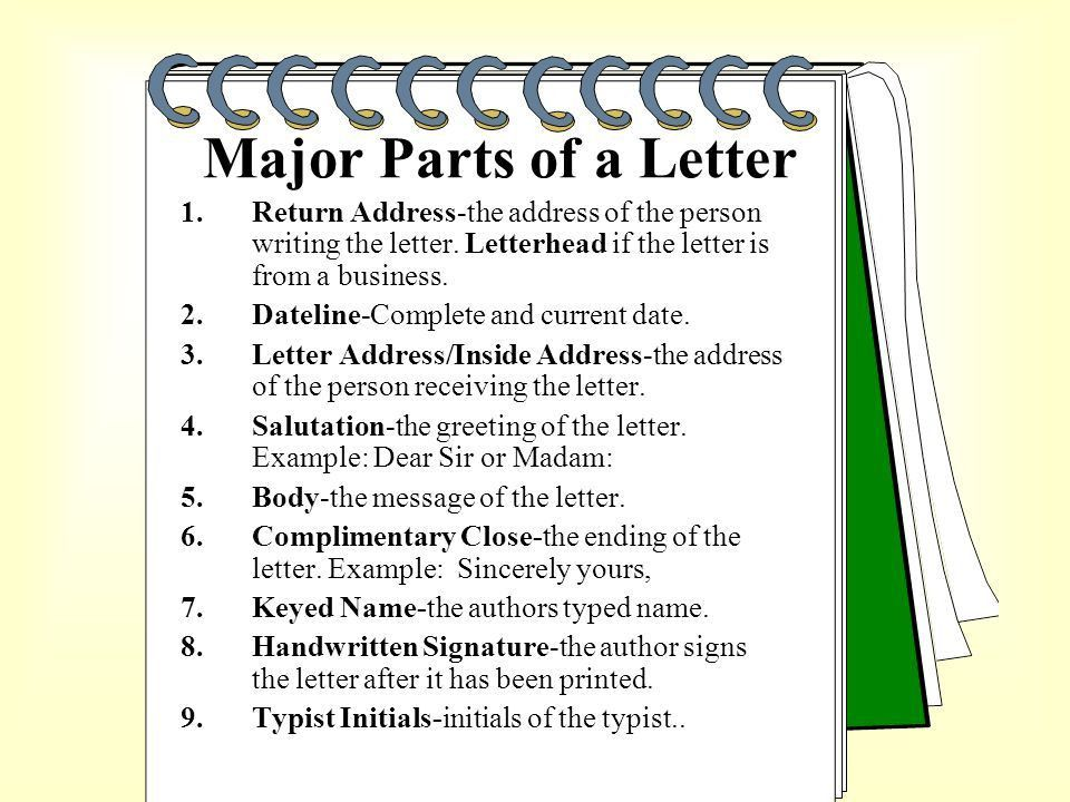 How to format a BUSINESS LETTER. - ppt video online download