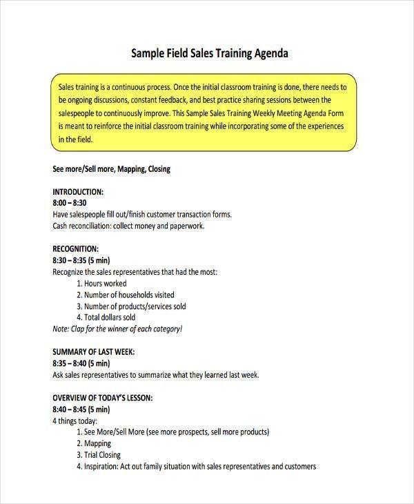 56+ Agenda Templates and Examples | Free & Premium Templates
