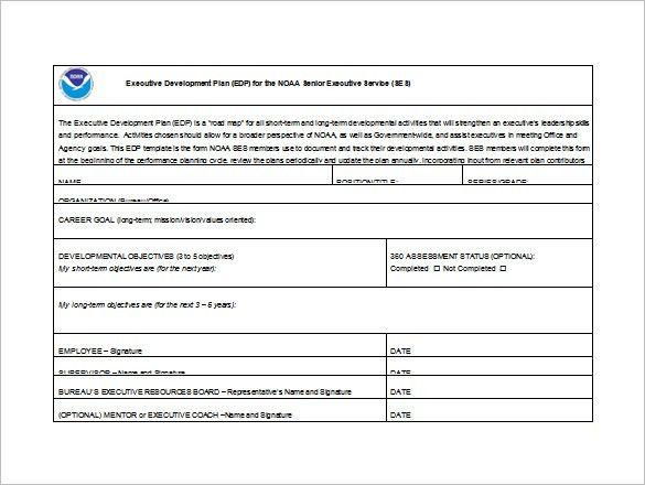 Career Development Plan Template   10 Free Word U0026 PDF Documents .