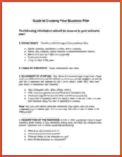 Simple Business Plan.Simple One Page Business Plan Template PDF ...