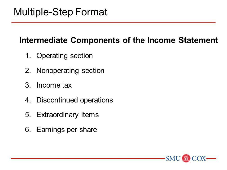 Components Of An Income Statement | Jobs.billybullock.us