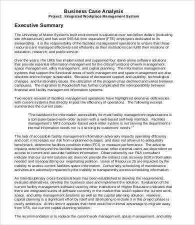 Executive Summary Sample - 9+ Free PDF, Word Documents Download ...