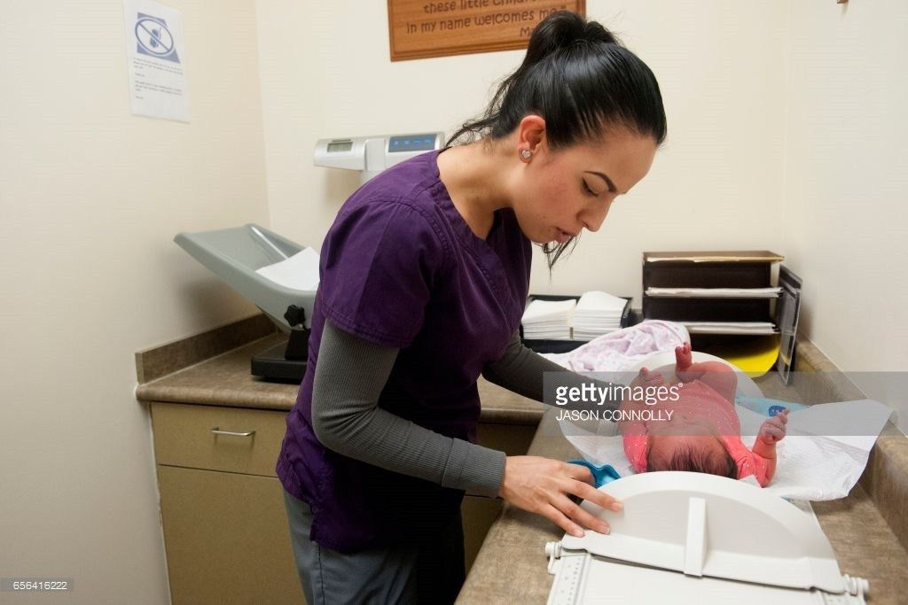 Mariela Duran, a pediatric medical assistant at Inner City Health ...
