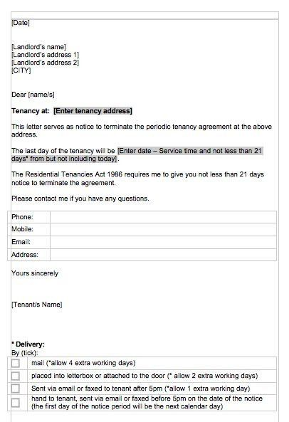 47 Eviction Notice Templates & Sample Letters – Free Template ...