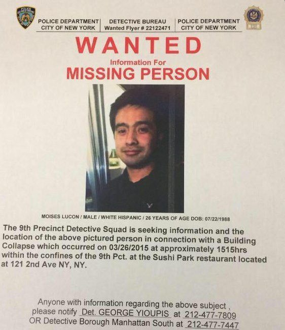 Moises Locon, Missing After East Village Explosion, Was Saving Up ...