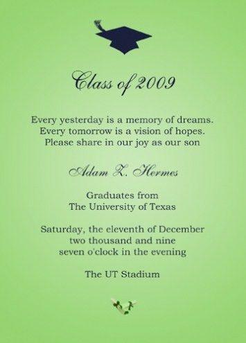 College Graduation Invitation Templates 2017 | THEWHIPPER.COM