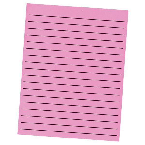 MaxiAids | Bold Line Paper in Neon Colors - 1 Pad of 90 - 30 ...