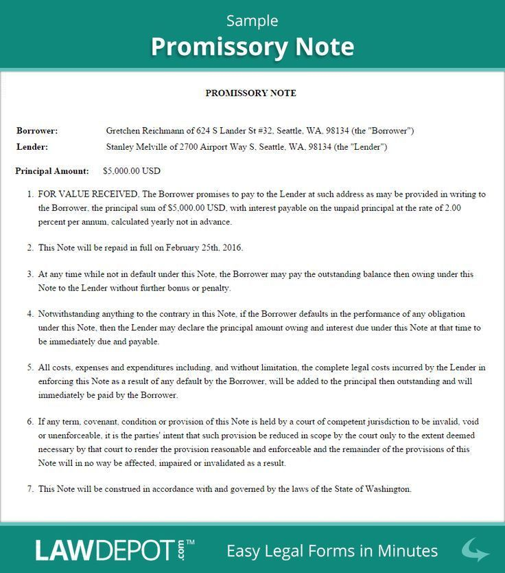 25+ best Promissory note ideas on Pinterest | Spa break deals ...