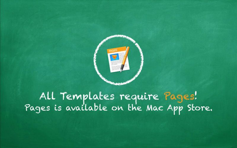 Education Templates (for Pages) on the Mac App Store