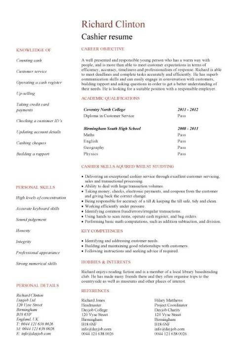 Sample cover letter for resume banking