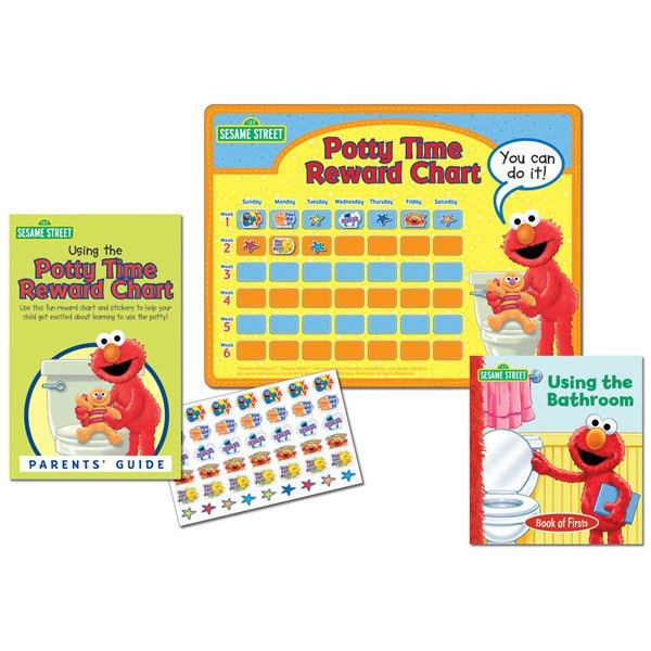 Elmo's Potty Training Reward Chart w/ Parents Guide | Baby N Toddler