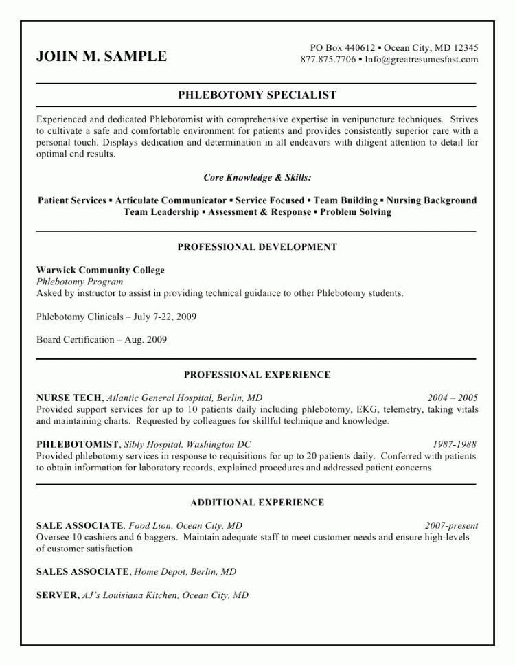 Emt Resume Sample Paramedic Resume Sample Resume Templates Resume ...