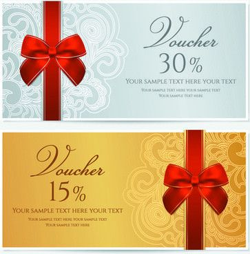 Vector discount voucher template free vector download (13,068 Free ...