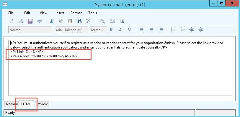 Workflow email URL encoding as a link | OrganicAX