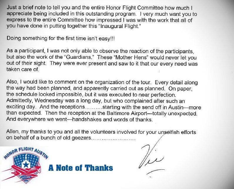 hfaustin   Honor Flight Austin   Page 5