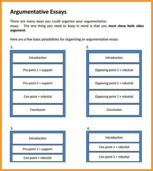 COUNTER ARGUMENT EXAMPLE | letter format mail