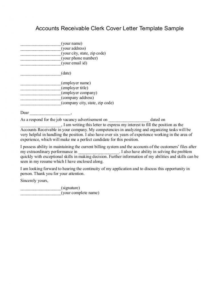 accounts payable cover letter cover letter database. accounting ...