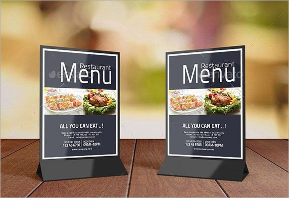 8+ S&le Table Tents - PSD Vector : table tent psd - memphite.com
