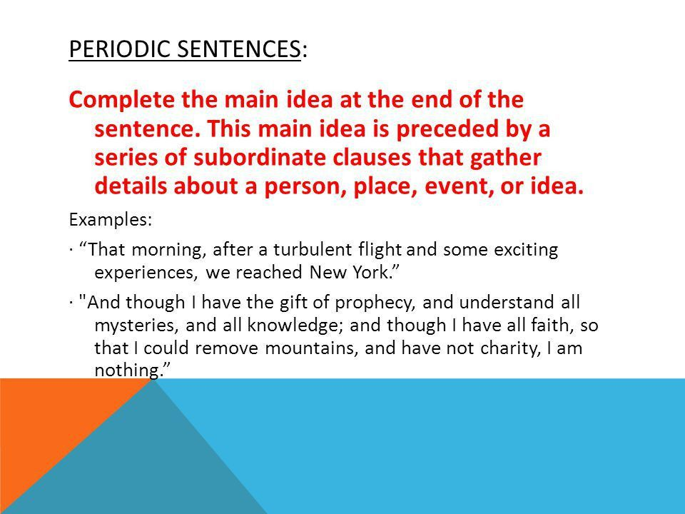 SENTENCE STYLE : AFFECTING THE WAY WE INTERPRET A WRITERS VOICE ...