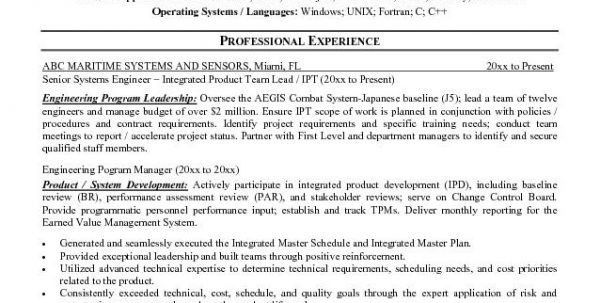 Construction Project Manager Resume Objective Engineering Project ...