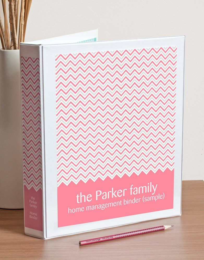 Printable Binder Cover, Spine Inserts and Tabbed Dividers in ...