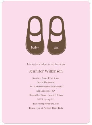26 best baby shower invites images on Pinterest | Baby shower ...