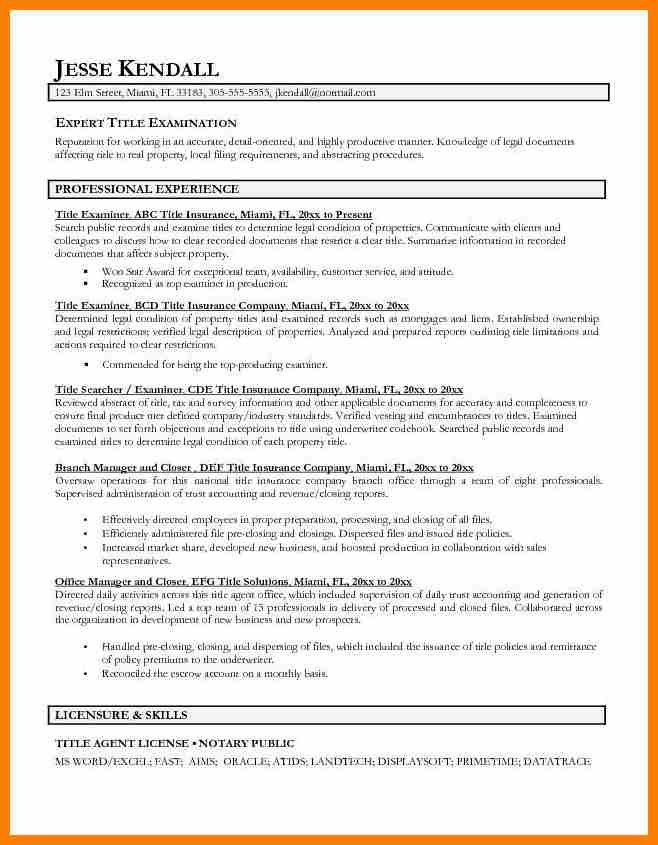 7+ resume title examples | resume pictures