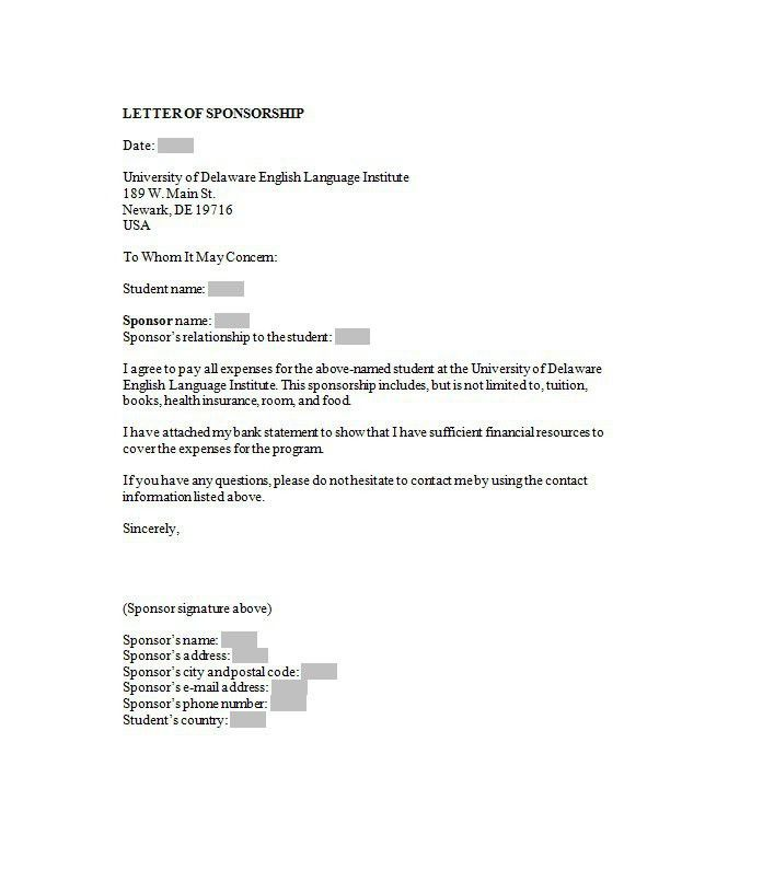 43 Free Sponsorship Letter & Sponsorship Proposal Templates – Free ...