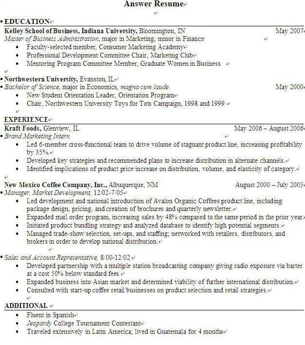 resume templates to highlight your accomplishments. facility ...