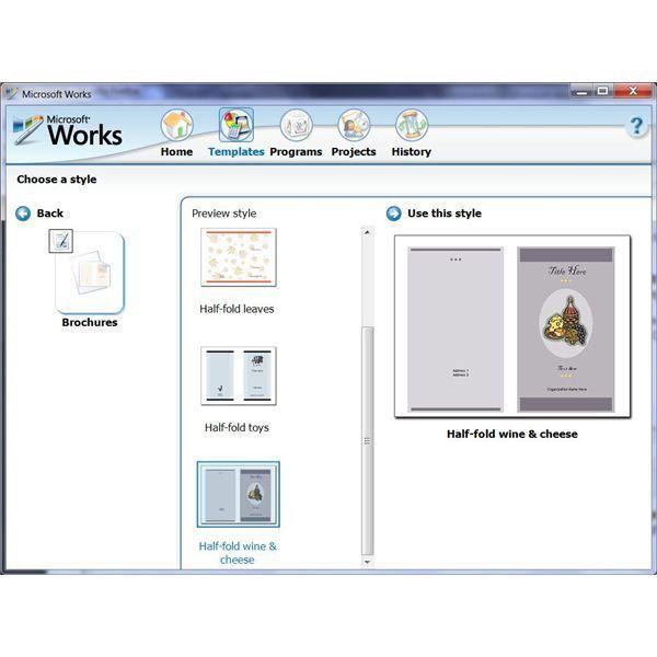 Microsoft Brochure Templates | tristarhomecareinc