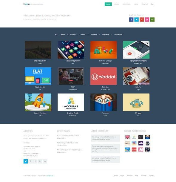 30+ Latest Free Responsive Html5 Css3 Site Templates