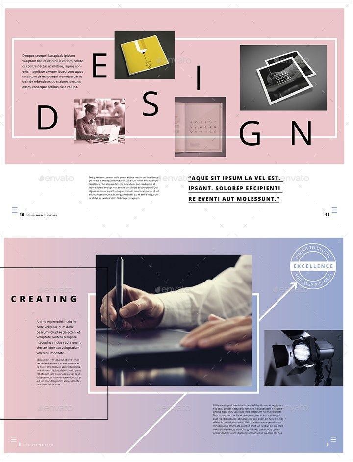 Portfolio Design to Inspire! 17+ Design Templates to Download ...