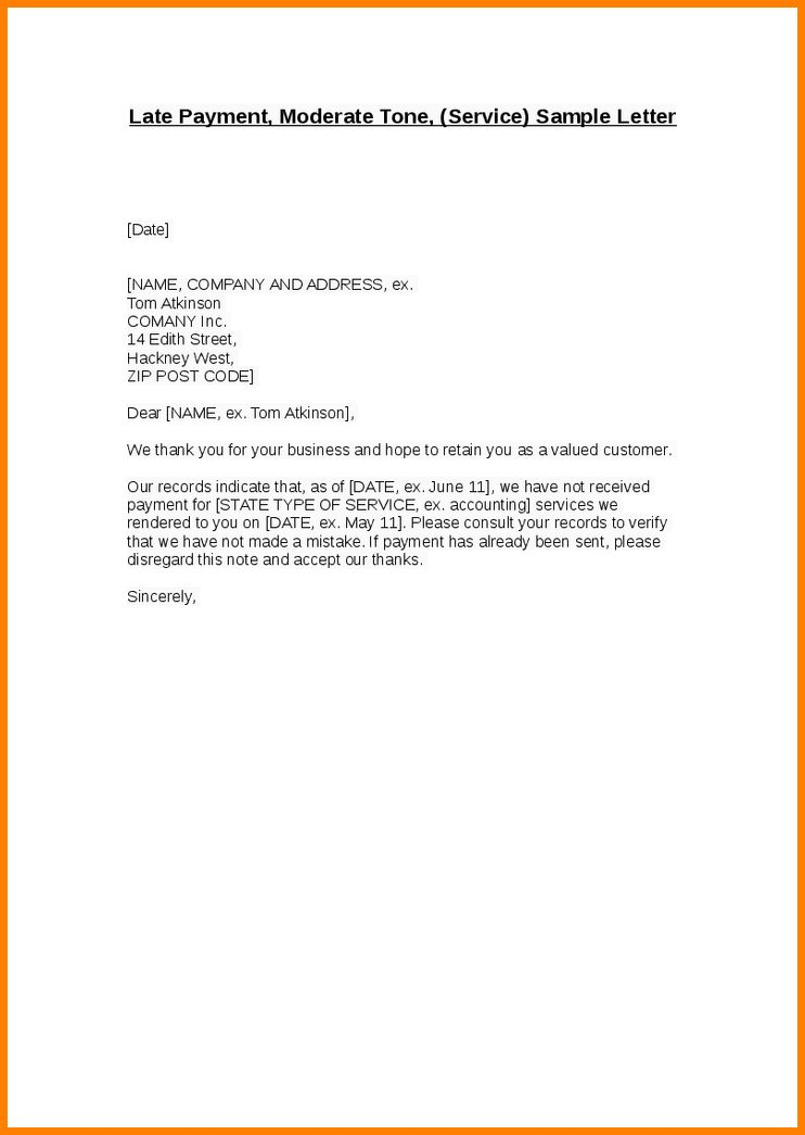 Sample Invoice Cover Letter