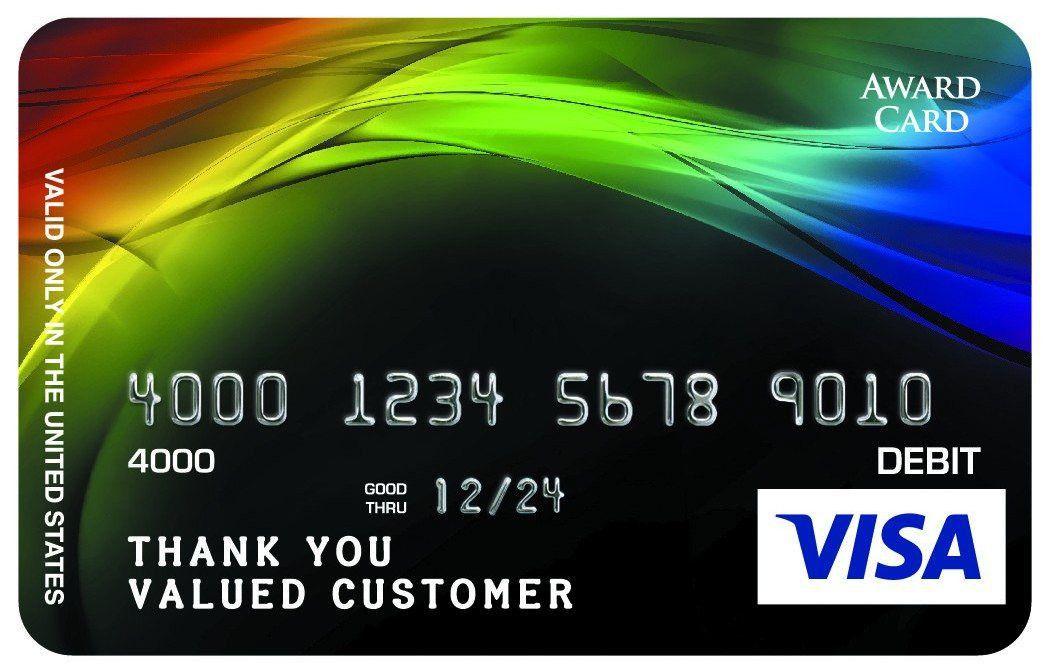 Prepaid Credit Cards Design Gallery | Classic Designs | Awards2Go