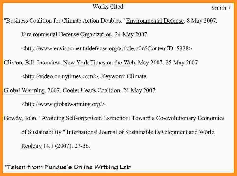 Works Cited Page Mla Example.example Work Cited Page Mla ...