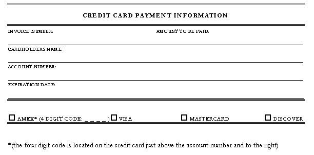 5 Credit Card Authorization Form Templates - formats, Examples in ...