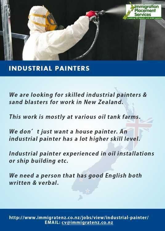 Industrial painter (Manila,). Other Jobs
