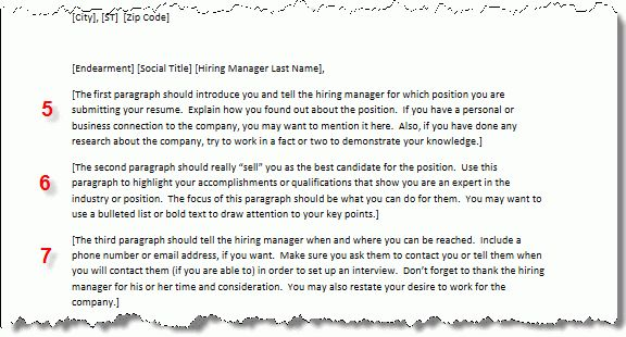 cover letter format first paragraph cover letter conclusion ...
