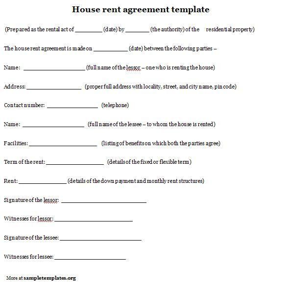 11 Best Images of Sample Lease Agreement Contract Template - Free ...