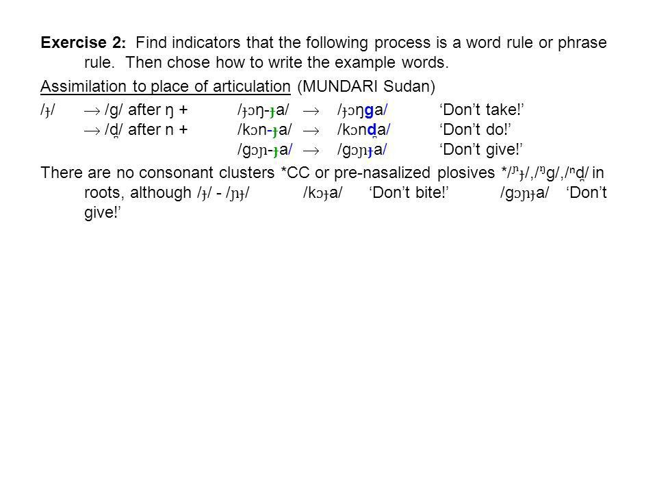 Word Break Assignment Answers (for LUMUN Sudan) ː Deletion V ...