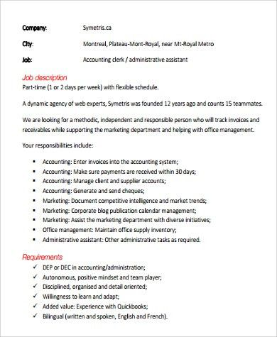 Marketing Assistant Job Description. Assistant-Office-Manager-Job ...