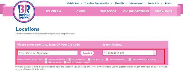 Baskin-Robbins Job Application - Adobe PDF - Apply Online